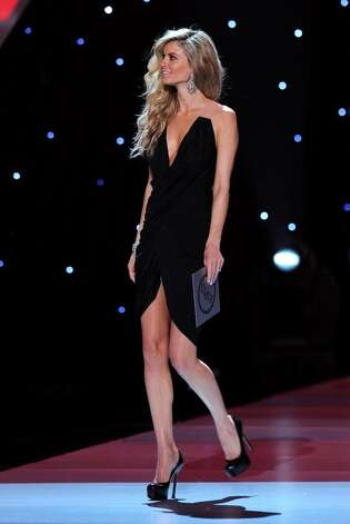 LOS ANGELES, CA - JULY 14:  Model Marisa Miller speaks onstage during the 2010 ESPY Awards at Nokia Theatre L.A. Live on July 14, 2010 in Los Angeles, California.  (Photo by Kevin Winter/Getty Images) *** Local Caption *** Marisa Miller Photo: Kevin Winter, Getty Images / 2010 Getty Images