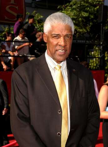 LOS ANGELES, CA - JULY 14:  Former NBA player Julius Erving arrives at the 2010 ESPY Awards at Nokia Theatre L.A. Live on July 14, 2010 in Los Angeles, California.  (Photo by Jason Merritt/Getty Images) *** Local Caption *** Julius Erving Photo: Jason Merritt, Getty Images / 2010 Getty Images