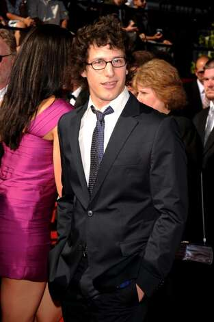 LOS ANGELES, CA - JULY 14:  Actor Andy Samberg arrives at the 2010 ESPY Awards at Nokia Theatre L.A. Live on July 14, 2010 in Los Angeles, California.  (Photo by Jason Merritt/Getty Images) *** Local Caption *** Andy Samberg Photo: Jason Merritt, Getty Images / 2010 Getty Images