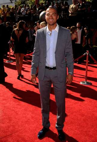 LOS ANGELES, CA - JULY 14:  Actor Jesse Williams arrives at the 2010 ESPY Awards at Nokia Theatre L.A. Live on July 14, 2010 in Los Angeles, California.  (Photo by Jason Merritt/Getty Images) *** Local Caption *** Jesse Williams Photo: Jason Merritt, Getty Images / 2010 Getty Images