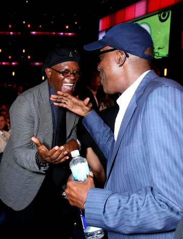 LOS ANGELES, CA - JULY 14:  (L-R) Actor Samuel L. Jackson greets Arsenio Hall during the 2010 ESPY Awards at Nokia Theatre L.A. Live on July 14, 2010 in Los Angeles, California.  (Photo by Alexandra Wyman/Getty Images for ESPY) *** Local Caption *** Samuel L. Jackson;Arsenio Hall Photo: Alexandra Wyman, Getty Images For ESPY / 2010 Getty Images