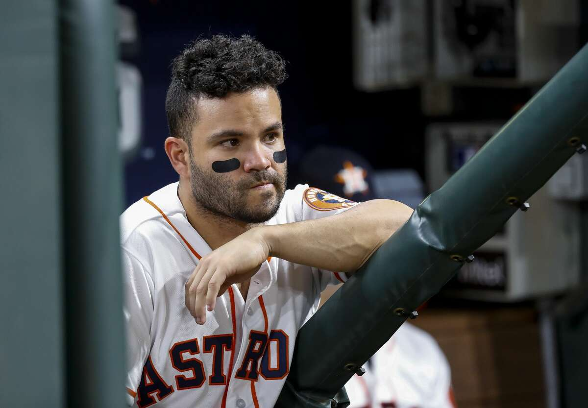 Jose Altuve's 2018 campaign was marred by a knee injury that required surgery after the postseason.
