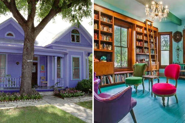 The former King William home of author Sandra Cisneros is once again on the market-with a completely new look.