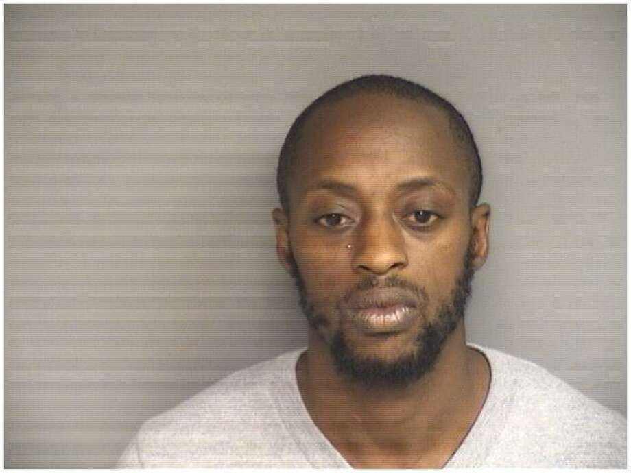Ahmed Jefferson, 30, of Bridgeport, was charged with possession of heroin after police found him carrying 40 glassine folds of heroin at the Red Carpet Inn on Oct. 17, 2018. Photo: Stamford Police / Contributed
