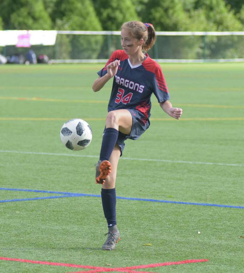 Fairfield's Lauren Lior scored a goals in GFA's 5-0 win over King on homecoming weekend. Photo: Contributed Photo /