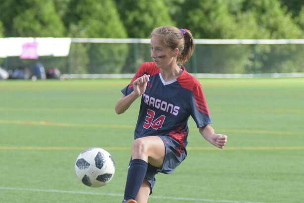 Fairfield's Lauren Lior scored a goals in GFA's 5-0 win over King on homecoming weekend.