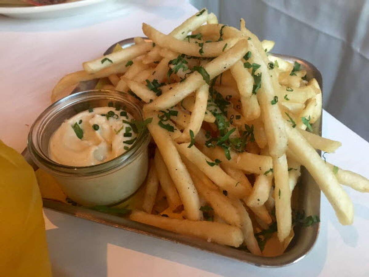 Fries at La Lucha