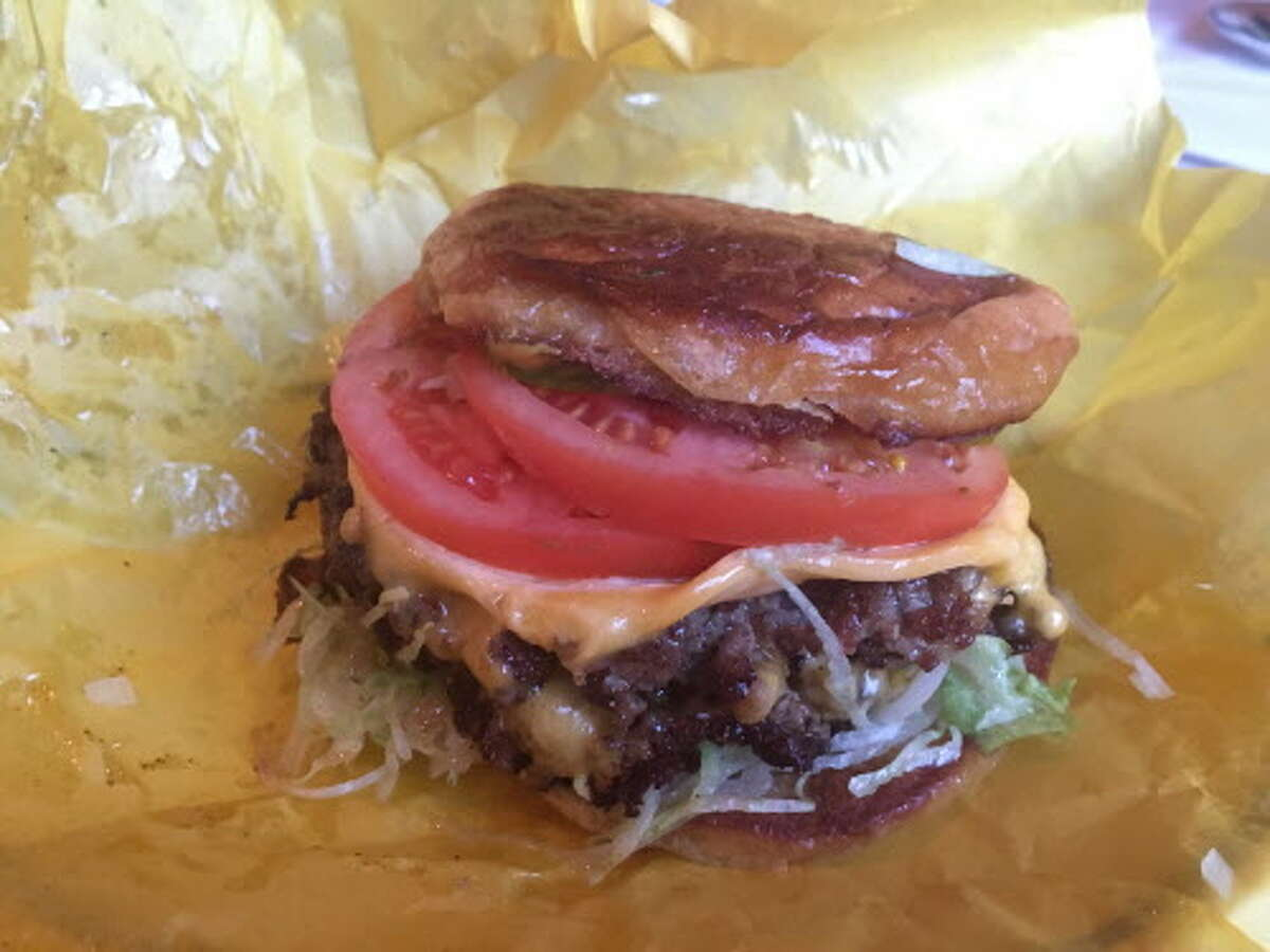 Pharmacy Burger at La Lucha >>>See more of Houston's must-try burgers...