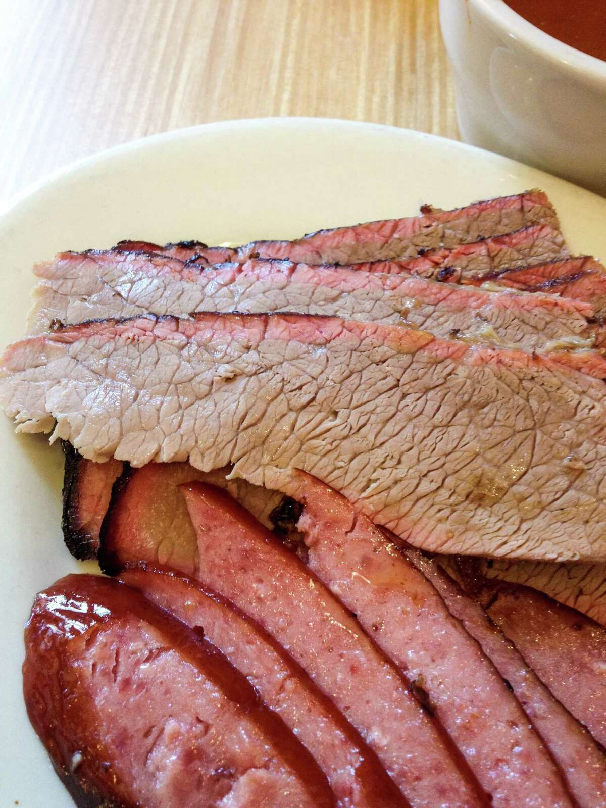 Lean brisket with fat cap removed