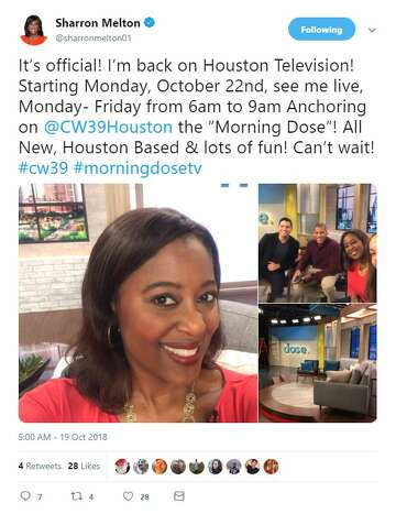 Sharron Melton returns to Houston TV on revamped CW39