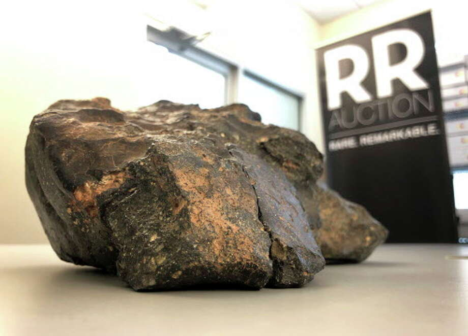 Image result for meteorite sells big at auction