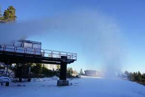 Mount Rose ski resort in Nevada readies for the winter ski season. The resort is opening to season pass holders on Oct. 19 and opening to all skiers and snowboarders on Oct. 26.