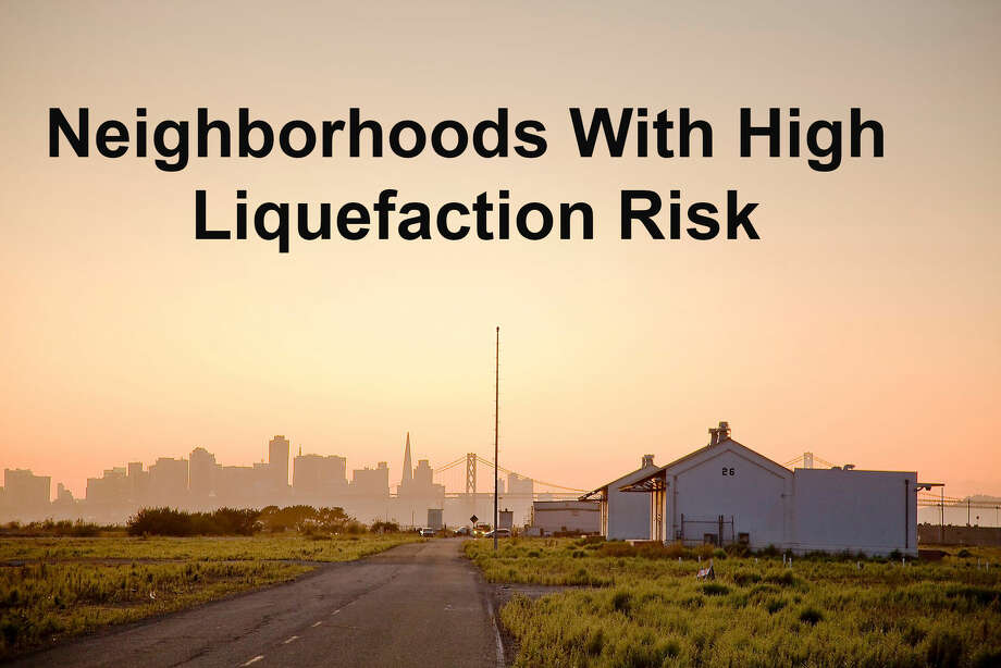 The following Bay Area neighborhoods are partially or largely built on land susceptible to liquefaction. Photo: Silentfoto/Getty Images