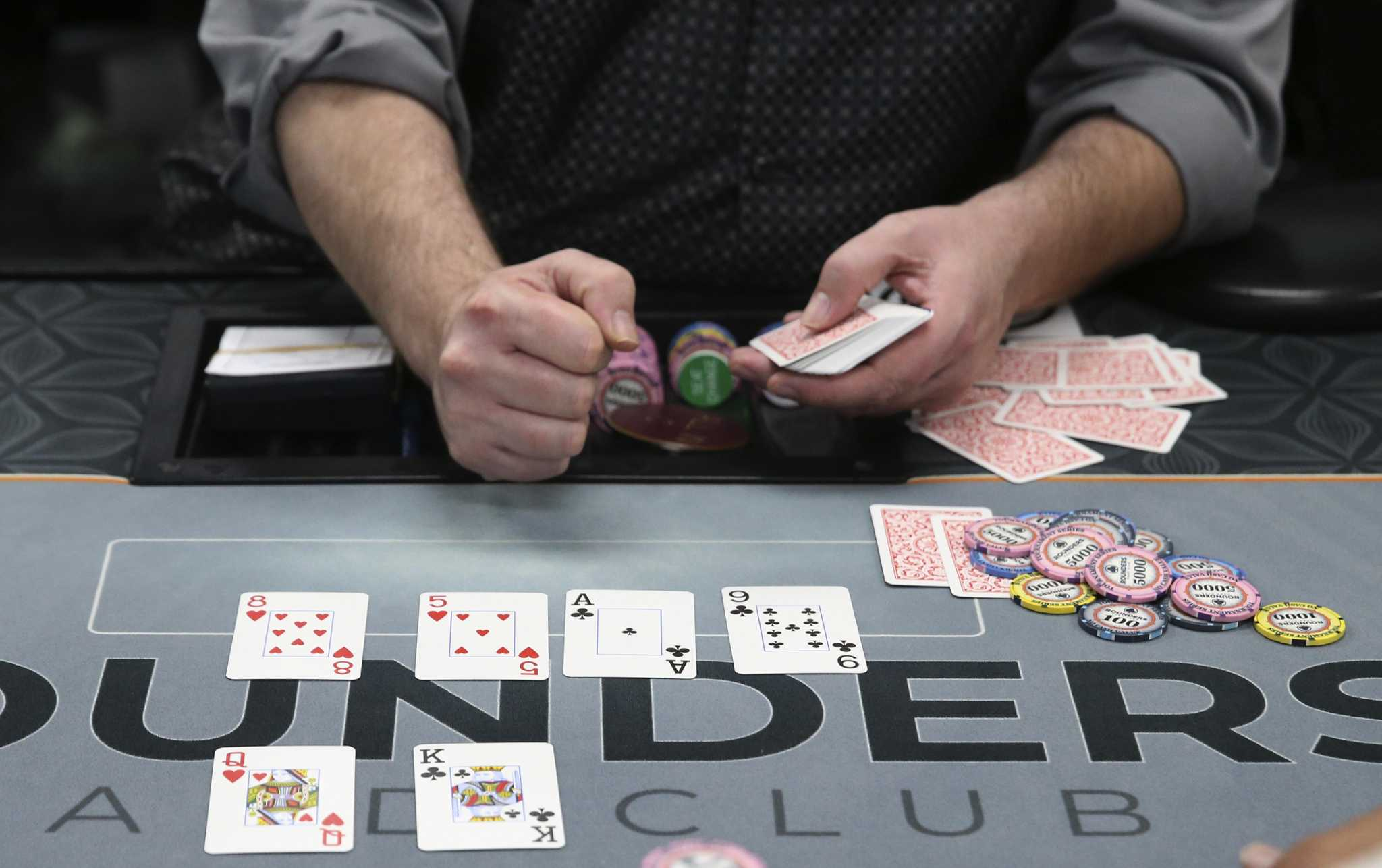 Poker rooms flourishing, but will the law shut them down