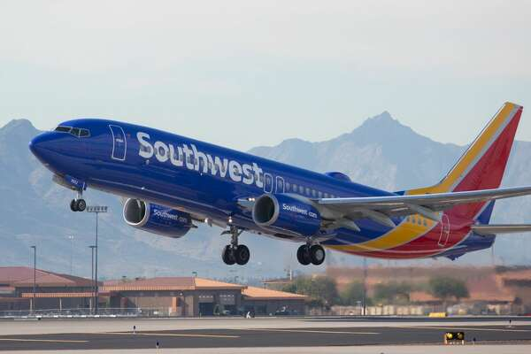 A Southwest flight made an emergency landing after a Texas man reportedly wouldn't stop touching a female passenger against her will