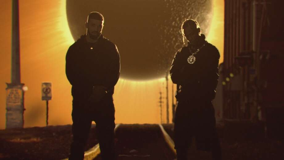 Travis Scott and Drake in the 'Sicko Mode' video. Photo: Courtesy