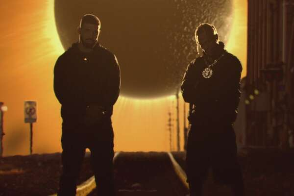 Travis Scott and Drake in the 'Sicko Mode' video.