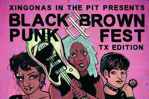 """Daisy Salinas just moved to town a year ago, but is leading the charge in creating the Black and Brown Punk Fest happening at La Botanica on the St. Mary's Strip. The event is the third installment of Xingonas in the Pit, a San Antonio group Salinas founded to celebrate """"mujer and nonbinary artists of culture."""""""