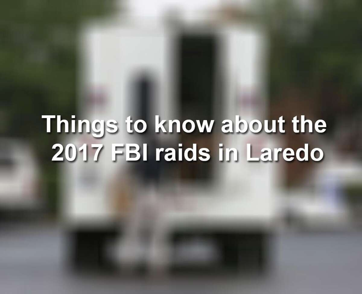 Keep clicking through the gallery to look back at the 2017 FBI raids in Laredo and across Texas.