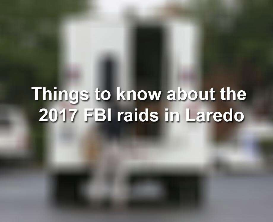 Keep clicking through the gallery to look back at the 2017 FBI raids in Laredo and across Texas. Photo: Yi-Chin Lee / Houston Chronicle, Yi-Chin Lee