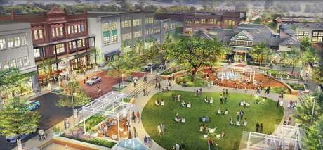 Updates to Market Street - The Woodlands include a revitalized Central Park green space with synthetic turf, expanded seating areas, pergolas and outdoor sculptures. The property also will have updated lighting, signage and landscaping.