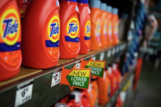 Procter & Gamble Co. Tide laundry detergent at a Home Depot store in New York on May 11, 2018.
