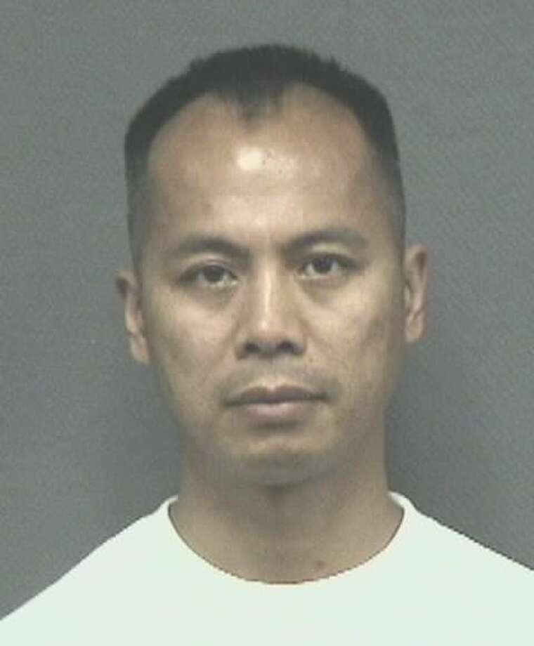 Houston Police Officer Thomas Lam was arrested Thursday, Oct. 18, 2018 on two misdemeanor charges related to illegal gambling operations. Photo: Harris County Sheriff's Office