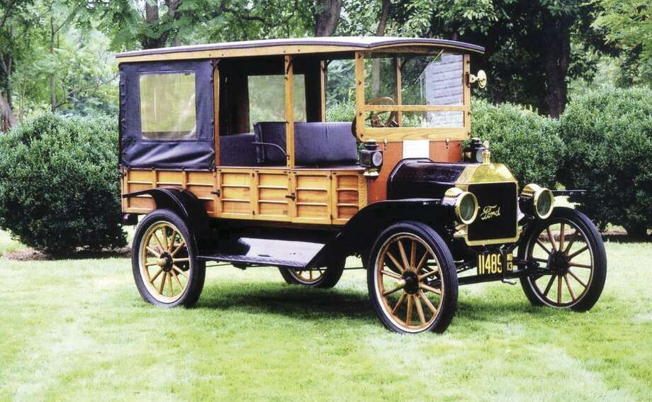 The 20-horsepower, four-passenger 1913 Model T Ford was designed primarily to transport luggage from the train depot to whatever hotel or resort was the destination.