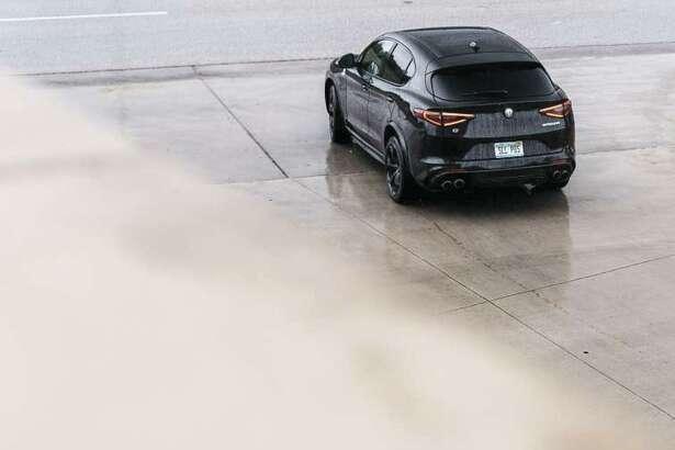 The 2018 Alfa Romeo Stelvio Quadrifoglio was named CUV of Texas by the TAWA (Texas Auto Writers Association).