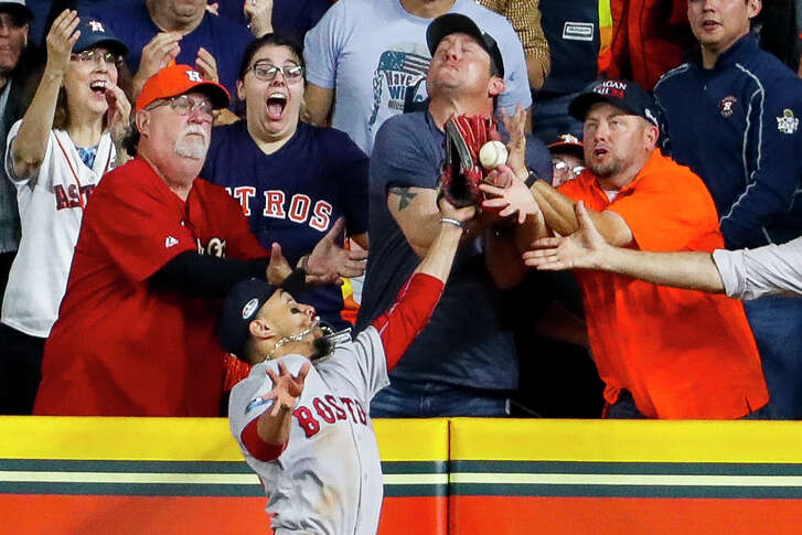 The fan interference ruling during Game 4 that took a home run away from the Astros' Jose Altuve likely will remain the main flashpoint from this year's ALCS.