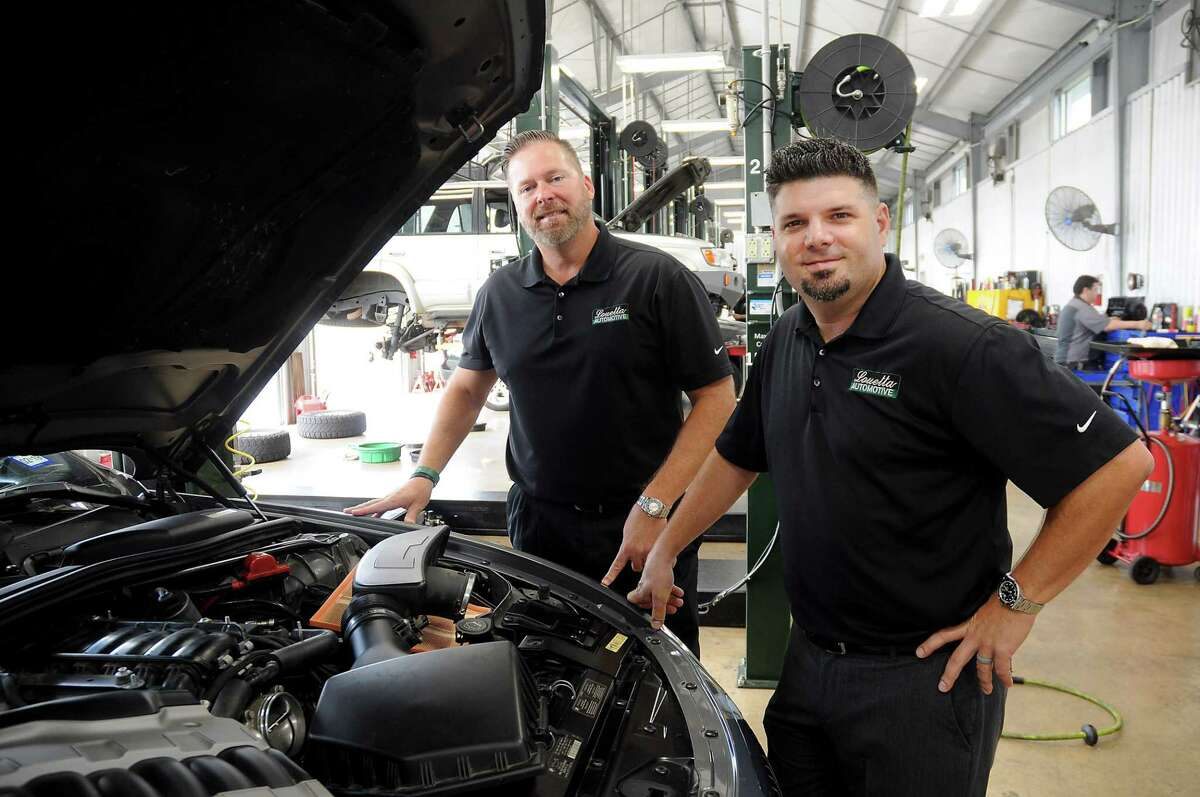 Louetta Automotive area directors Kevin Bratton and Glenn Piccolo are among the company's nearly 100 employees across its 11 locations in the Houston area.
