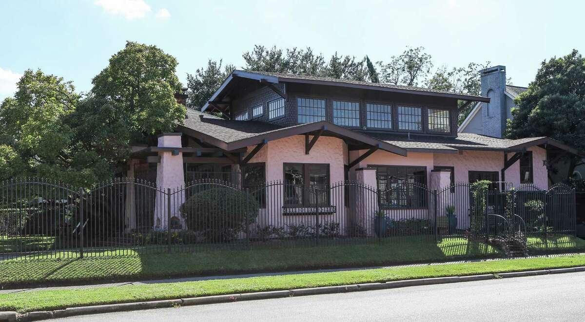 The Audubon Place home owned by Claire and Jeff Granberry and Claire's brother James Petersen Jr., will be one of several on Preservation Houston's 2018 Good Brick Tour Oct. 27-28.