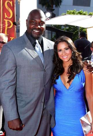 LOS ANGELES, CA - JULY 14:  TV personalities Marcellus Wiley and Jazmin Lopez arrive at the 2010 ESPY Awards at Nokia Theatre L.A. Live on July 14, 2010 in Los Angeles, California.  (Photo by Alexandra Wyman/Getty Images for ESPY) *** Local Caption *** Marcellus Wiley;Jazmin Lopez Photo: Alexandra Wyman, Getty Images For ESPY / 2010 Getty Images
