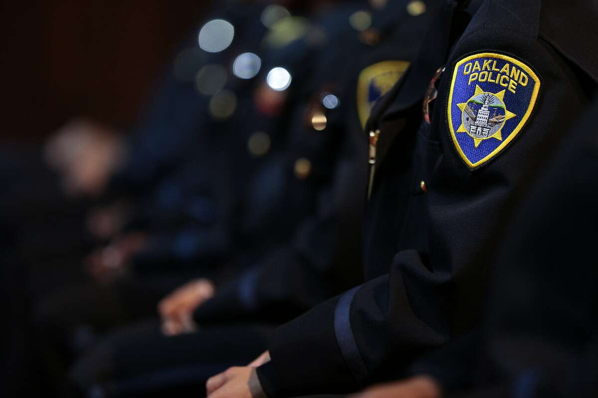 The 172nd police academy of Oakland celebrates graduation at the Scottish Rite Temple on Friday, Oct. 30, 2015 in Oakland, Calif.