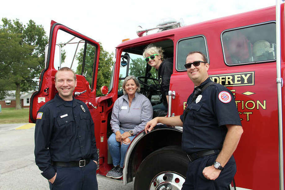 On Sept. 29 Beverly Farm Foundation hosted a fundraiser for the Godfrey Fire Protection District that will yield a donation to the department of $7,938. Beverly Farm employees will present the check to Godfrey firefighters Saturday during the department's annual open house.