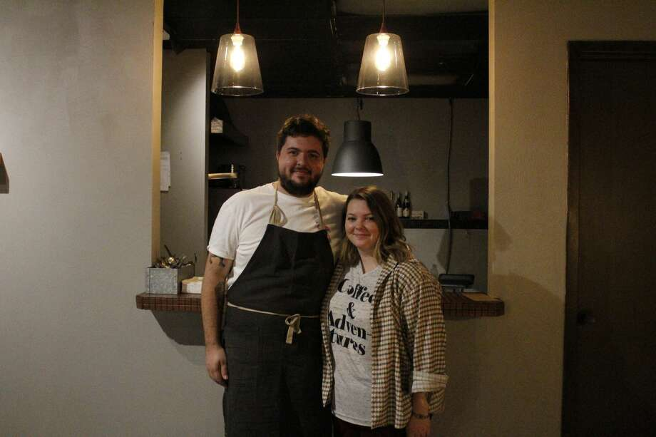 Seth and Hannah Streun's new Fonte restaurant opened in downtown Midland with breakfast and lunch service and the occasional dinner event. Photo: Tori Aldana/MRT