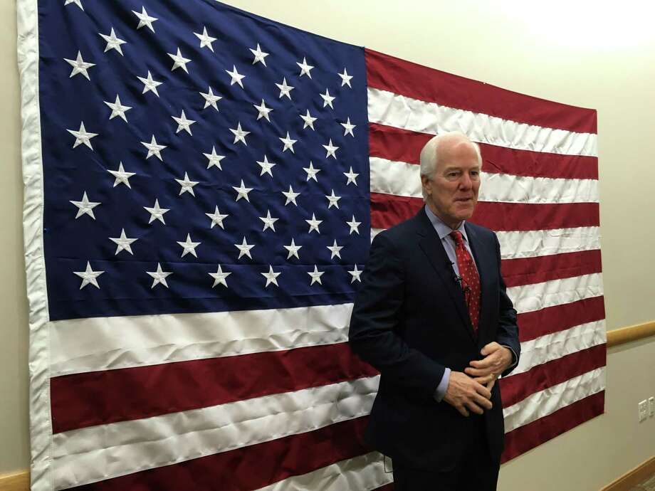 U.S. Sen. John Cornyn visited Toyota's plant in San Antonio on Friday, October 19, 2018. Photo: Madison Iszler/San Antonio Express-News / Madison Iszler/San Antonio Express-News