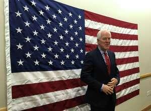 U.S. Sen. John Cornyn visited Toyota's plant in San Antonio on Friday, October 19, 2018.