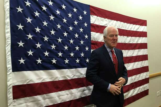 U.S. Sen. John Cornyn visited Toyota's plant in San Antonio on Friday, October 19, 2018.