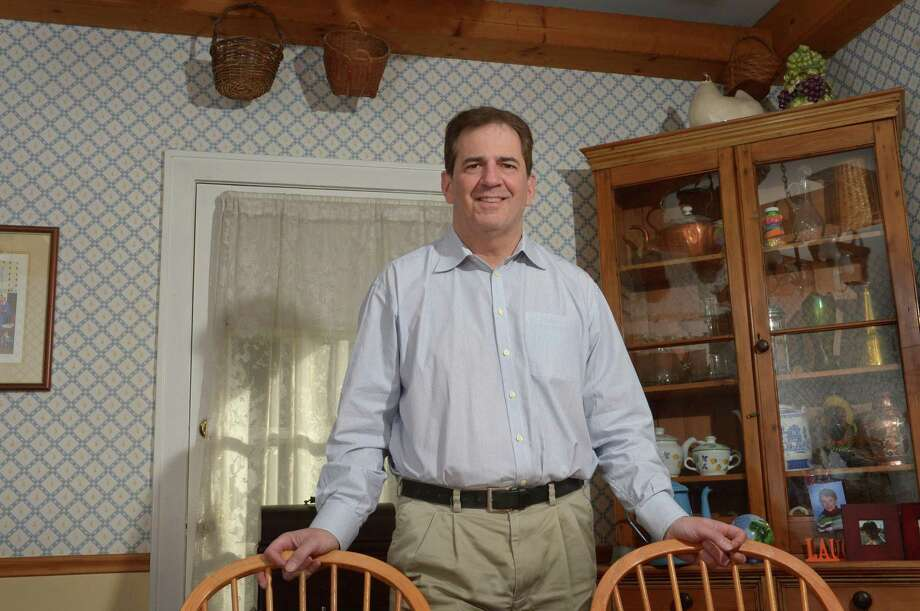 Democratic incumbent Chris Perone, going for 8th term as state rep in the 137th district, at his home Friday, October 19, 2018, in Norwalk, Conn. Photo: Erik Trautmann / Hearst Connecticut Media / Norwalk Hour