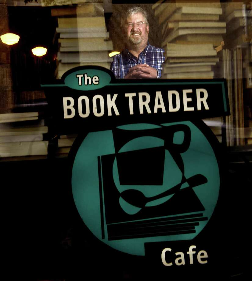 David Duda, owner of The Book Trader Cafe in New Haven Photo: Peter Hvizdak / Hearst Connecticut Media / New Haven Register