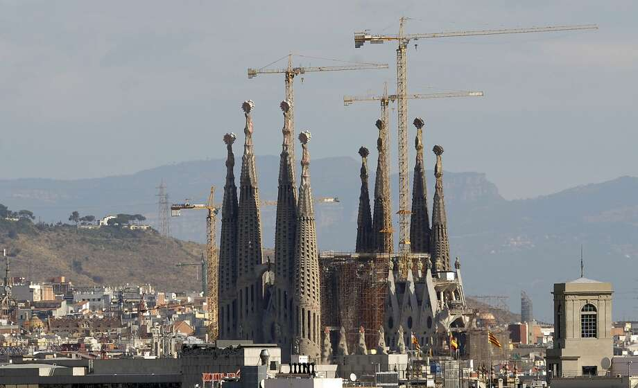 The Sagrada Familia in Barcelona has agreed to pay city authorities 36 million euros, or about $41 million, over 10 years to settle a dispute over the legality of ongoing construction work. Photo: Manu Fernandez / AP 2008