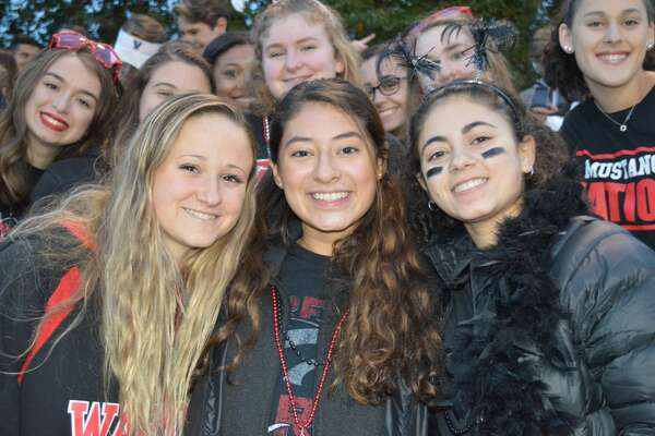 Darien and Fairfield Warde faced off on the football field October 19, 2018. Were you SEEN in the stands?