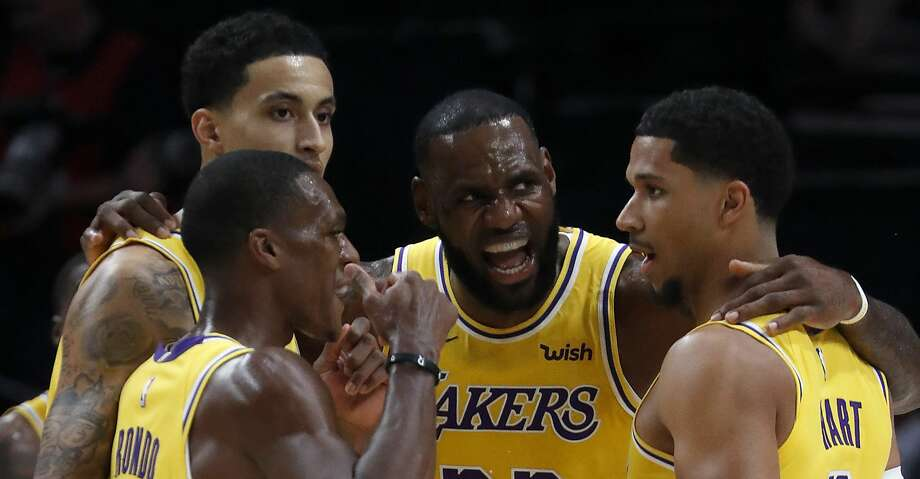the latest afd0b d540b Rockets' defense must adjust quickly as LeBron James, Lakers ...