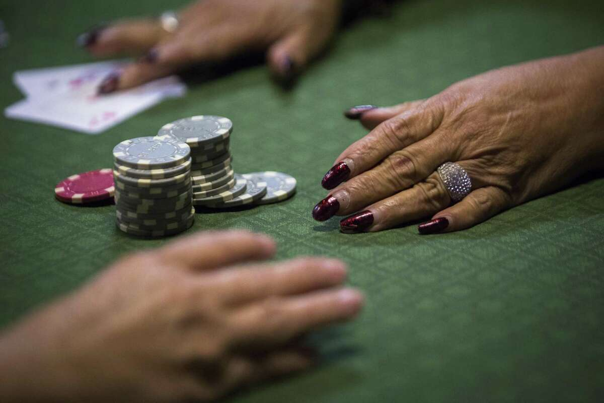 Authorities raided two poker rooms in Houston on Wednesday, May 1, 2019.