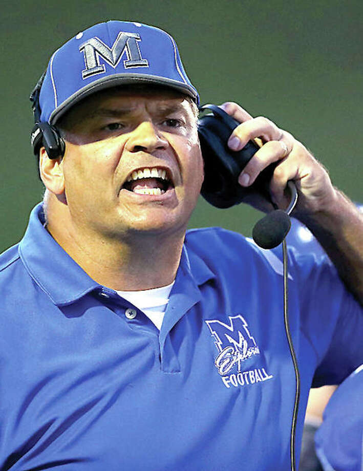 Marquette's head coach Darrell Angleton's tream came from behind to beat SouthFork 29-20 in Friday night's, regular season finale, making the Explorers playoff eligible at 5-4. Photo: Telegraph Photo