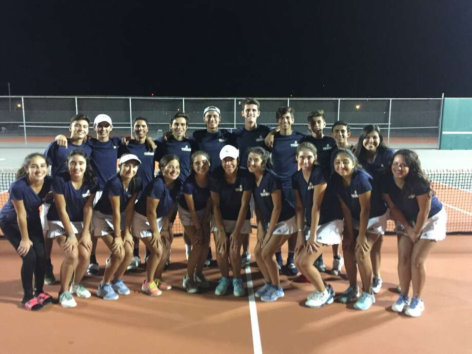 The Alexander tennis team won 19-0 at home over Los Fresnos on Friday night in the area championship as they advance to the regional quarterfinals against McAllen on Tuesday. Photo: Courtesy Of Alexander Athletics