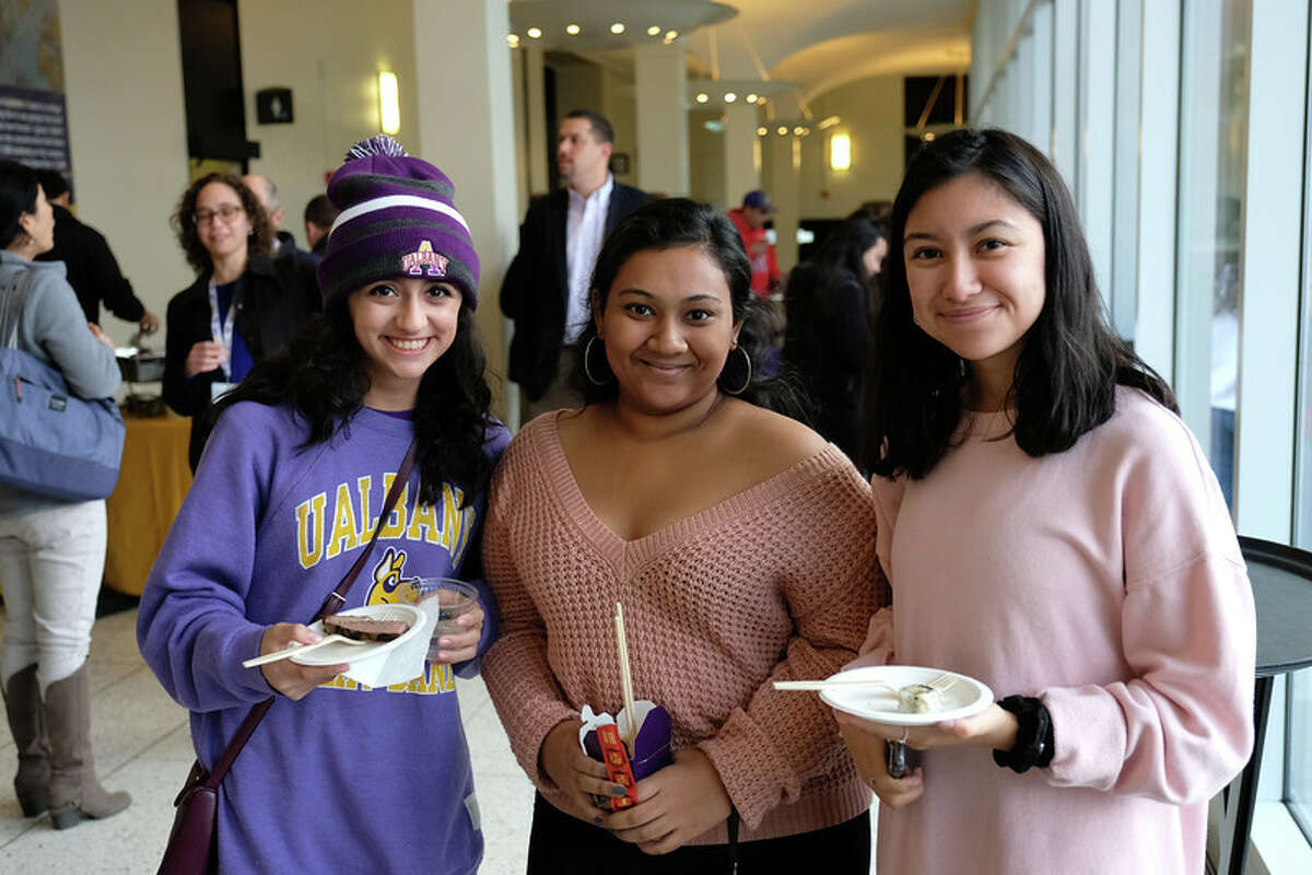 Were you Seen during the kickoff for the University at Albany's Homecoming weekend and