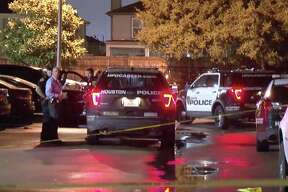 A man was fatally shot multiple times in the parking lot of a southeast Houston apartment complex near Hobby Airport Saturday morning, officials said.