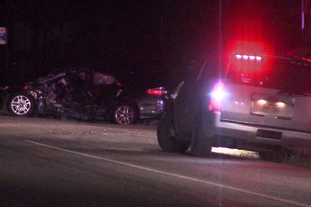 A man died early Saturday, Oct. 20., after a two-vehicle wreck in the Southwest Side, according to the Bexar County Sheriff's Office.